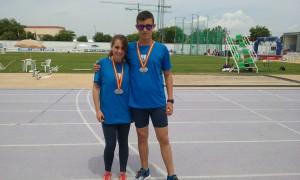 Oscar y Mariña subcampeones de España